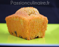 Mini cakes à l'orange, chocolat, vanille et cannelle