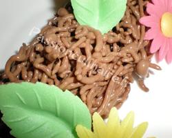 Spaghetti de chocolat mol culaire en vid o - Spaghetti cuisine moleculaire ...