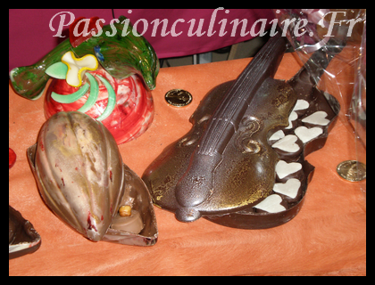 Pr sentation d 39 oeuvres d 39 art en chocolat - Salon du chocolat marseille ...
