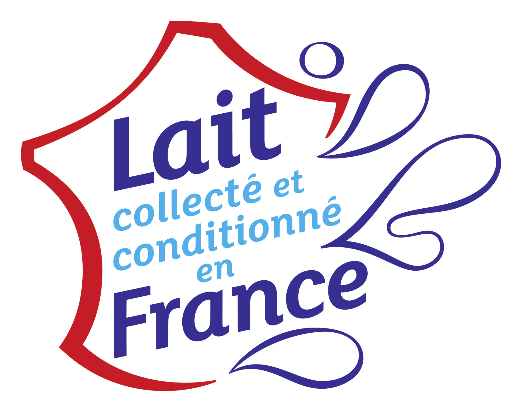 Logo 2015 Syndilait - Lait collecté et conditionné en France