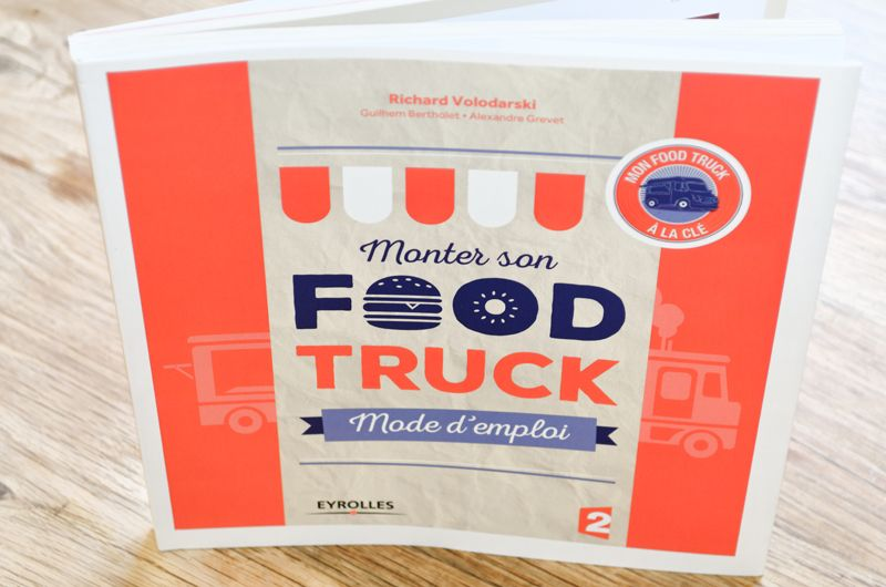 Couverture - Monter son food truck - Mode d'emploi