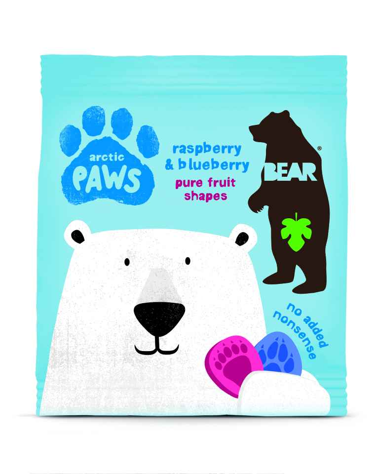 Bear - Pure fruit - Artic Paws