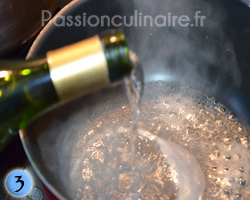Réduction de vin blanc